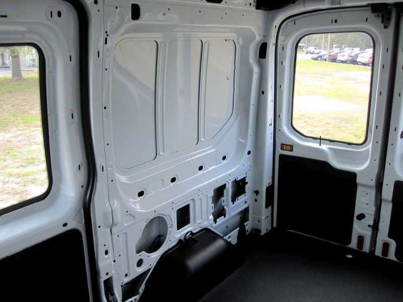First look 2015 ford transit review for Ford cargo van interior panels