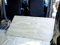 rv plywood floor front panel