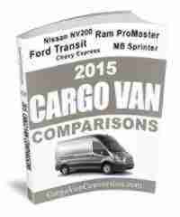 2015 cargo vans comparisons book