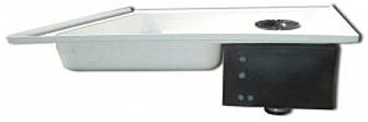 Shower Pan With Built In Holding Tank Cargo Van Conversion