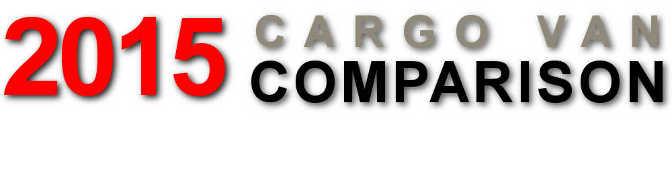 2017 Cargo Van Comparison