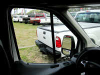 Ford Transit Side Door View