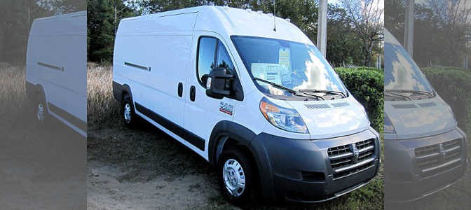 First Look: 2015 Ram Promaster Review