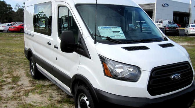 First Look: 2015 Ford Transit Review