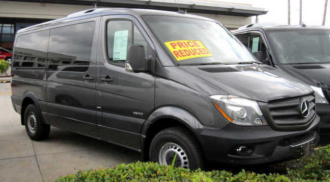 First Look 2015 Mb Sprinter Review