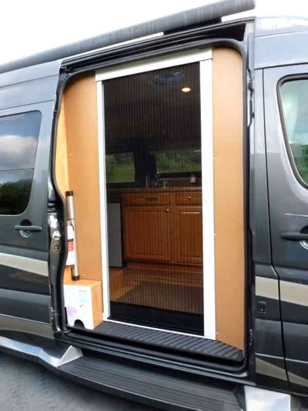 Sliding Door Ventilation : Insulating your rv passive cooling cargovanconversion
