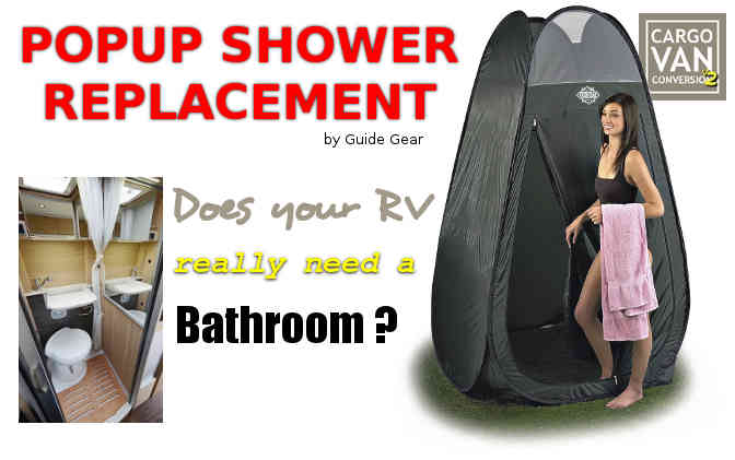 rv popup shower