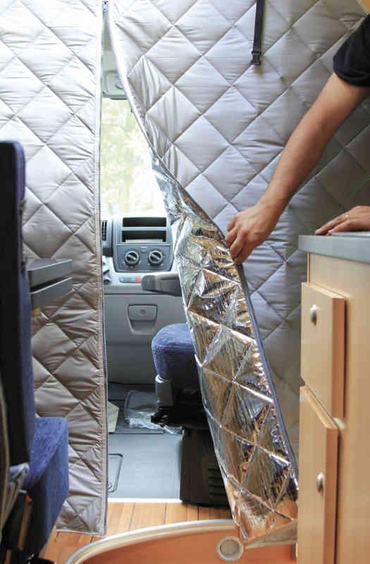 Fiamma Curtain Cargo Van Conversion