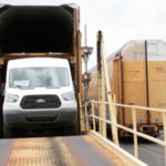 ford transit rail transport