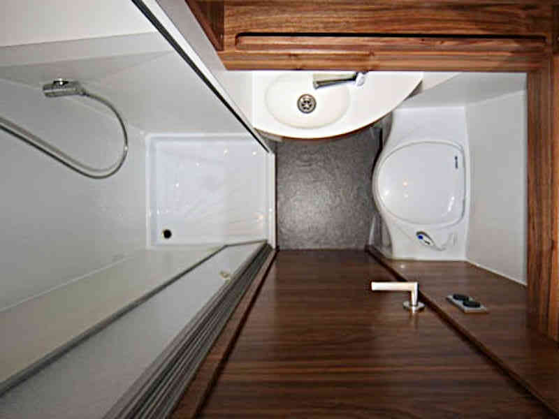 when a bathroom makes sense or not rh cargovanconversion com Conversion Van Interiors Conversion Vans with Bathroom and Bed