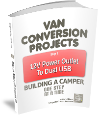 Enter Your Email Below And Click Sign Up For My Newsletter I Will You A Download Link To Van Conversion Project 1 Dual USB