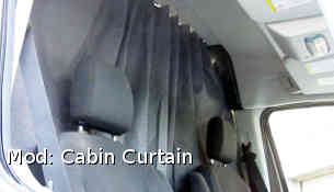cabin curtain