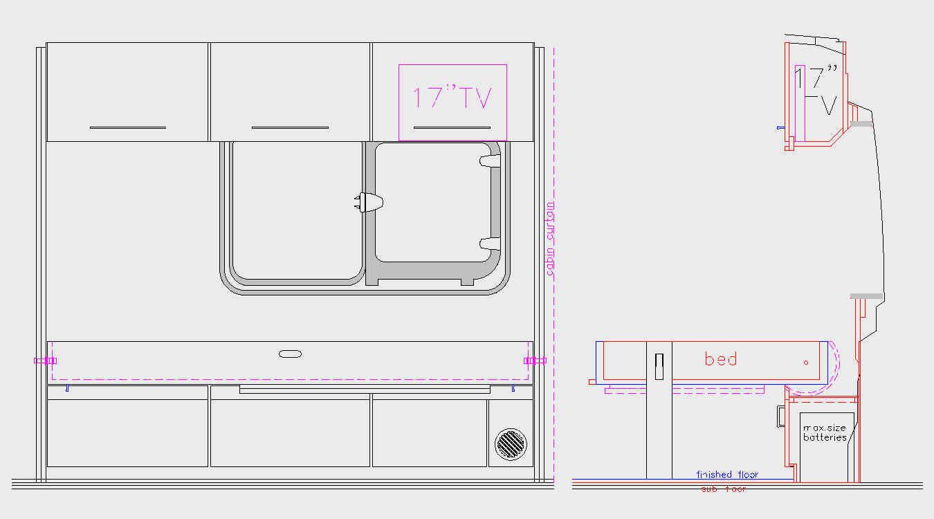 Murphy Bed Design Cargovanconversion Com
