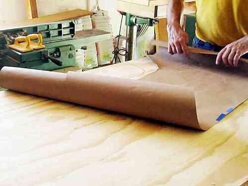 01 Rv Plywood Floor Template Cargo Van Conversion