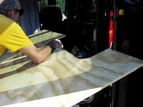 03 Rv Plywood Floor Check Cargo Van Conversion