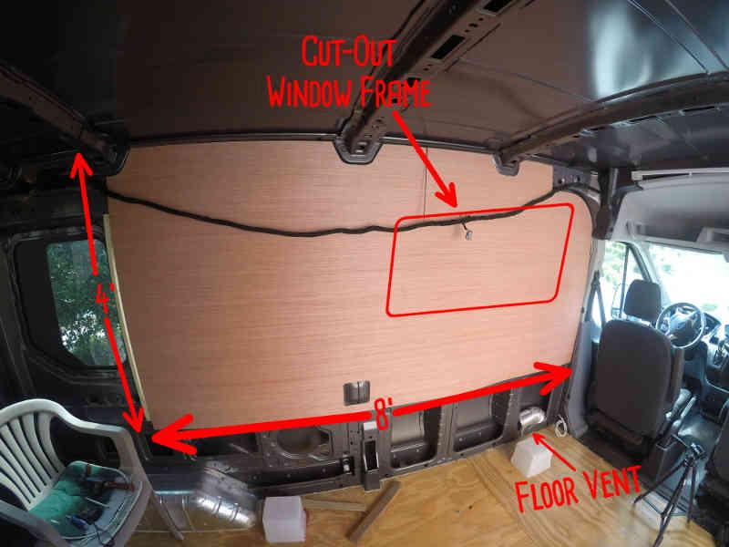 Insulation Cargo Van Conversion