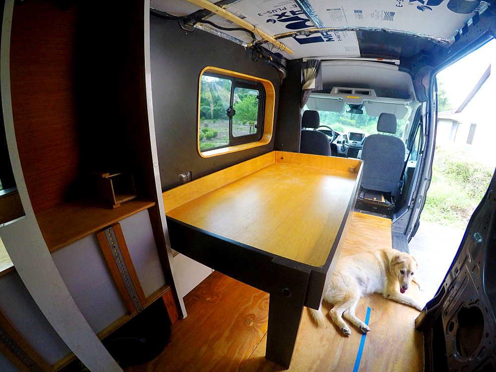 Rv Murphy Bed Installation Cargovanconversioncom