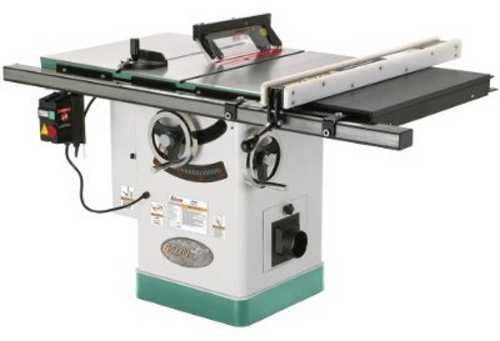 Grizzly g0690 10 3hp 220v cabinet table saw with riving for 10 cabinet table saw