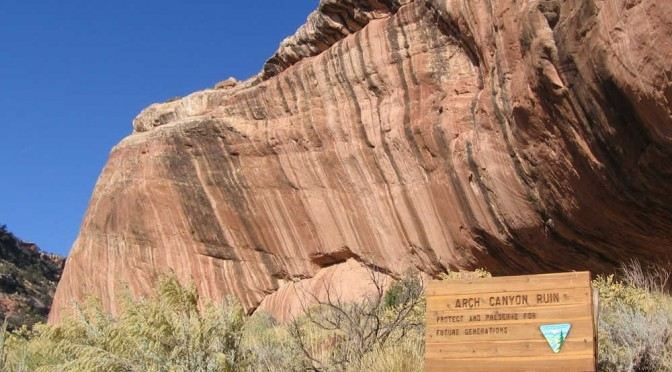 Arch Canyon Ruins Dog Friendly Trails Amp Free Camping